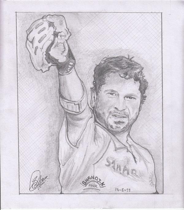 Sachin Tendulkar by shanoj7